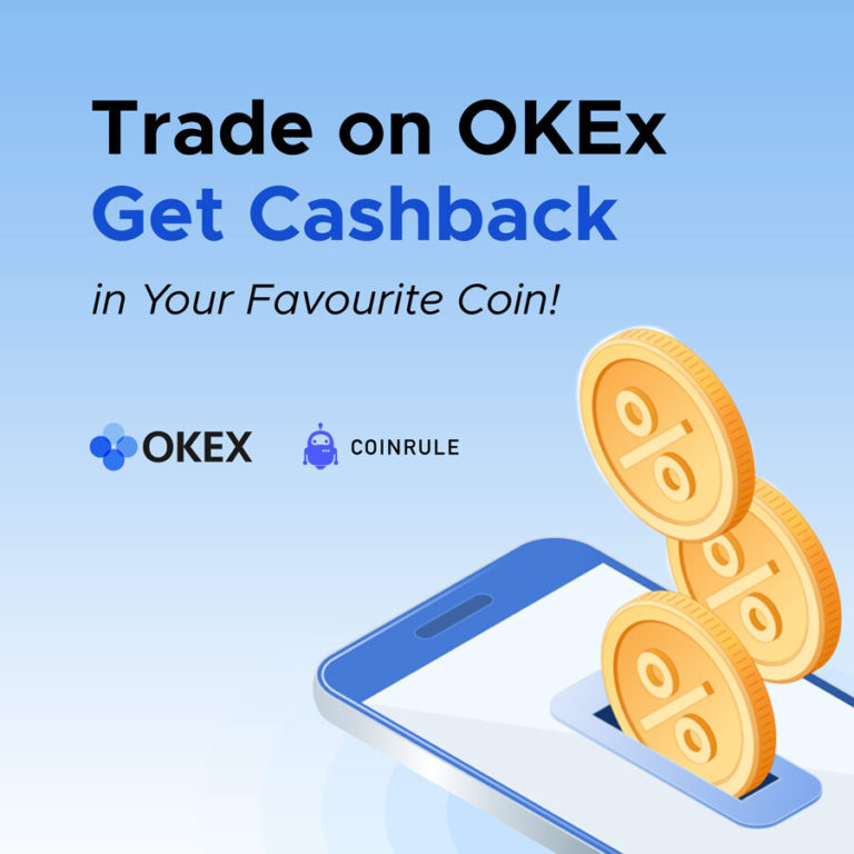 get a crypto cashback with OKEx