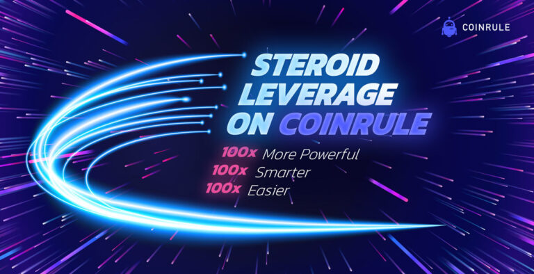 Coinrule steroid leverage