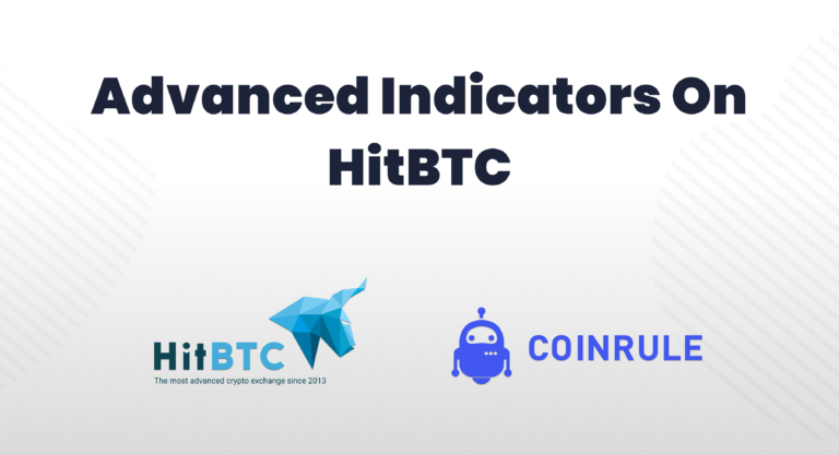 Advanced indicators on Hitbtc